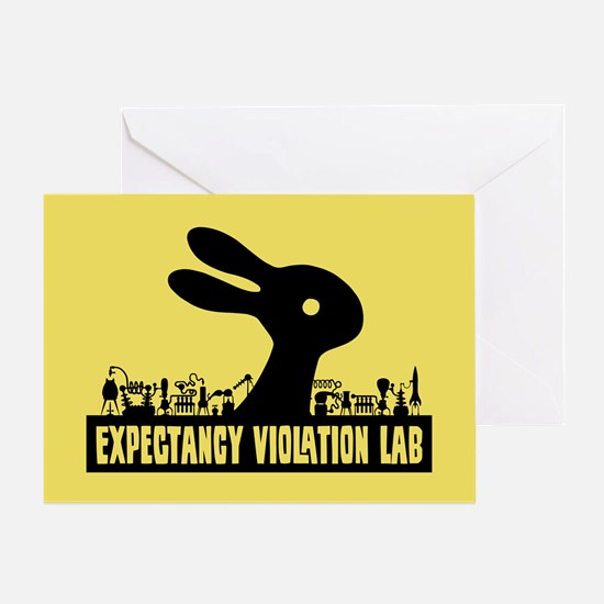Expectancy Violation Labs Greeting Card