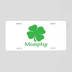 MURPHY (SHAMROCK) Aluminum License Plate