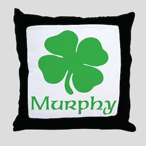 MURPHY (SHAMROCK) Throw Pillow
