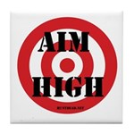 Aim High Tile Coaster