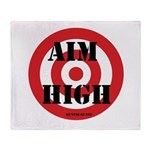 Aim High Throw Blanket