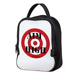 Aim High Neoprene Lunch Bag