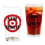 Aim High Drinking Glass