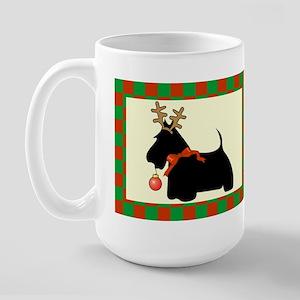 Scottish Terrier Christmas Large Mug