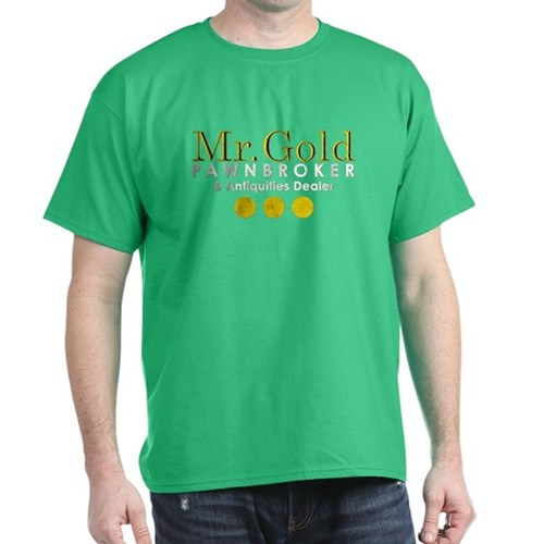 Mr. Gold Pawnbroker Dark T-Shirt