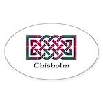 Knot - Chisholm Sticker (Oval 50 pk)