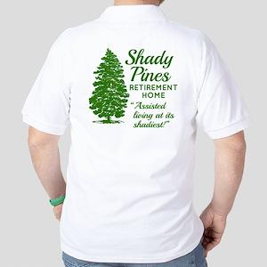 SHADY PINES Golden Girls Golf Shirt