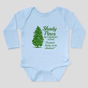 SHADY PINES Golden Gir Long Sleeve Infant Bodysuit