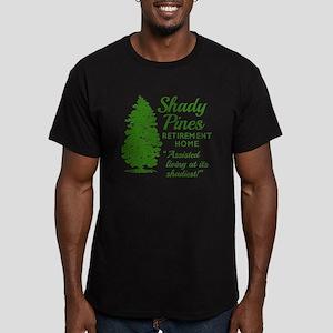 SHADY PINES Golden Gir Men's Fitted T-Shirt (dark)