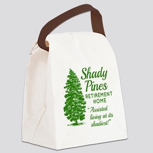 SHADY PINES Golden Girls Canvas Lunch Bag