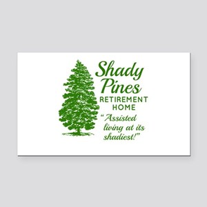 SHADY PINES Golden Girls Rectangle Car Magnet