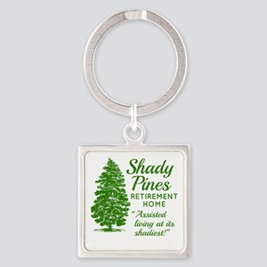SHADY PINES Golden Girls Square Keychain