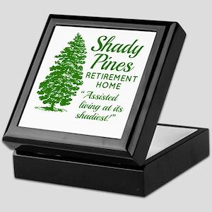 SHADY PINES Golden Girls Keepsake Box