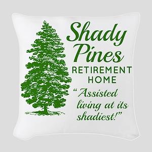 SHADY PINES Golden Girls Woven Throw Pillow