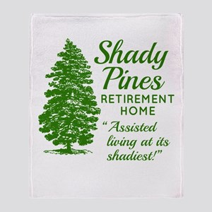 SHADY PINES Golden Girls Throw Blanket