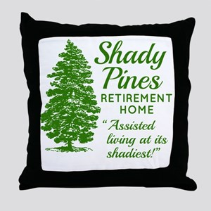 SHADY PINES Golden Girls Throw Pillow