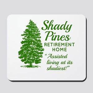 SHADY PINES Golden Girls Mousepad