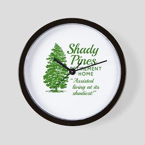 SHADY PINES Golden Girls Wall Clock