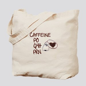 caffeine prescription Tote Bag