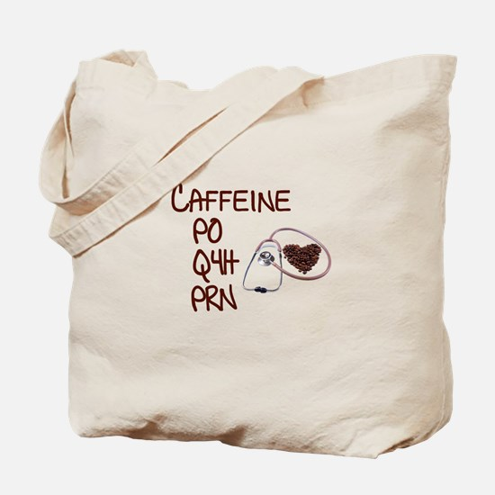caffeine prescription Tote Bag