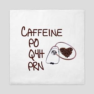 caffeine prescription Queen Duvet
