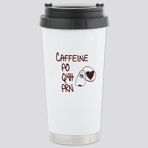 caffeine prescription Stainless Steel Travel Mug