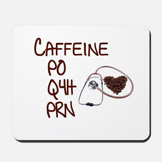caffeine prescription Mousepad