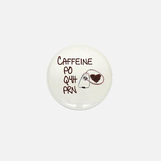 caffeine prescription Mini Button