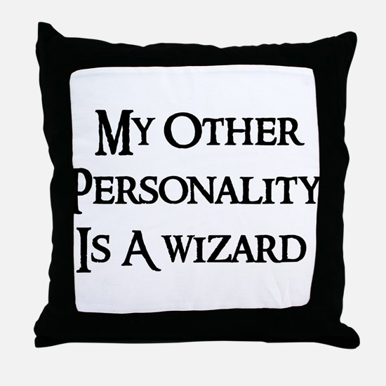 Wizard Personality Throw Pillow