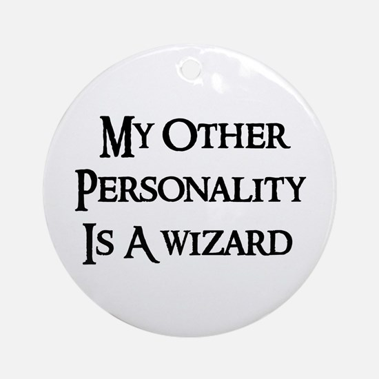 Wizard Personality Ornament (Round)