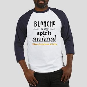 Blanche is My Spirit Animal GG Baseball Jersey
