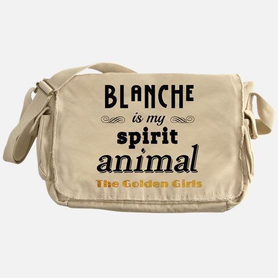 Blanche is My Spirit Animal GG Messenger Bag