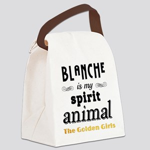 Blanche is My Spirit Animal GG Canvas Lunch Bag