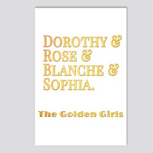Dorothy Blanche Rose Soph Postcards (Package of 8)