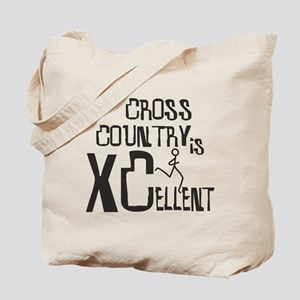 XC Cross Country Tote Bag