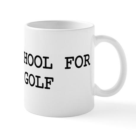 Skip school for DISC GOLF Mug