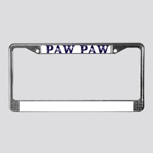 PAW PAW THE MAN MYTH LEGEND License Plate Frame