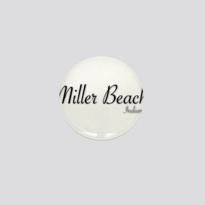 Miller Beach Logo Mini Button