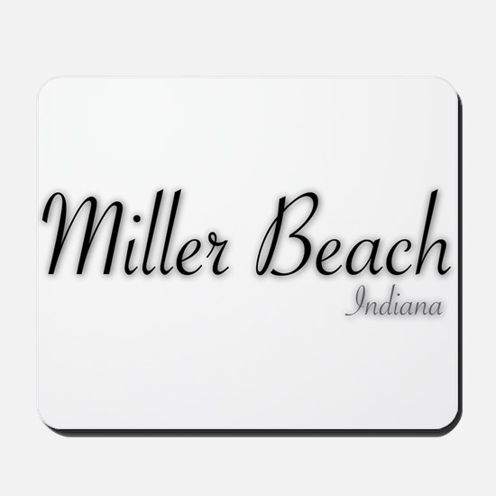 Miller Beach Logo Mousepad