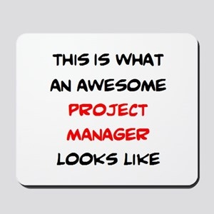 awesome project manager Mousepad