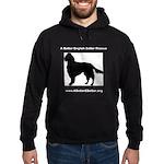 A Better English Setter Rescue Black Sweatshirt