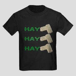 Hay Hay Hay Kids Dark T-Shirt