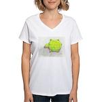 The Turtle Women's V-Neck T-Shirt