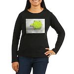 The Turtle Women's Long Sleeve Dark T-Shirt