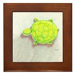 The Turtle Framed Tile