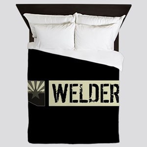 Welder: Arizona Flag & State Shape (Su Queen Duvet