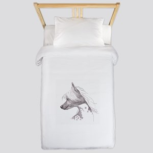 Chinese Crested Twin Duvet
