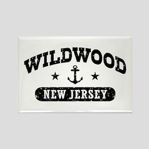 Wildwood NJ Rectangle Magnet