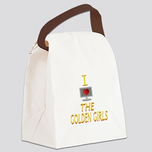 I Love The Golden Girls Canvas Lunch Bag