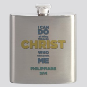 PHILIPPIANS 3:14 Cross Flask